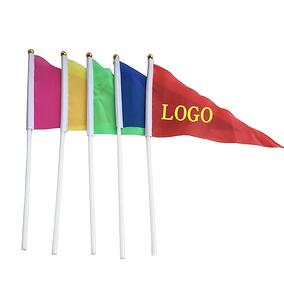 custom school penant flags