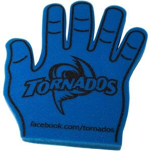 custom school foam hand