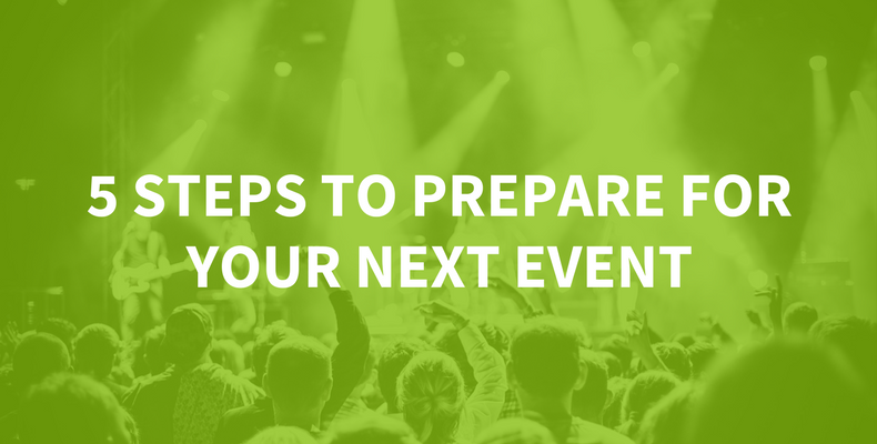 The 5-Step Event Preparation Guide