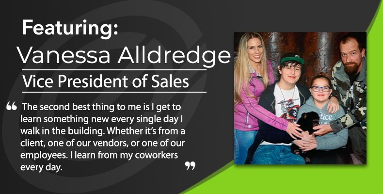 Employee Spotlight: Vanessa Alldredge